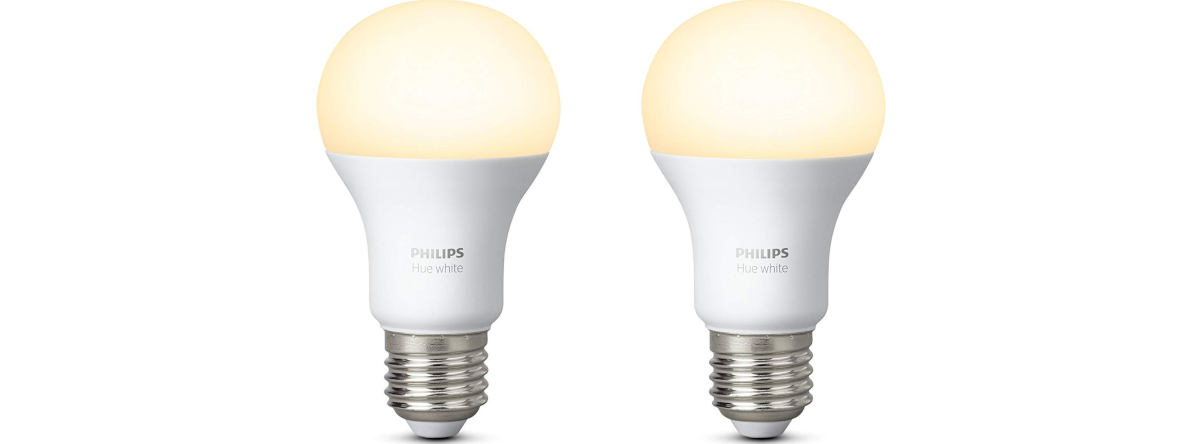 esempio lampadina Philips Hue white compatibile con Amazon Echo