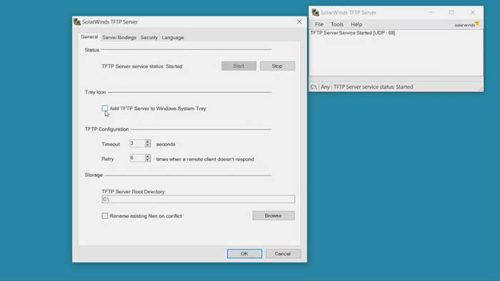 come creare server FTP Windows 10 FTP Voyager