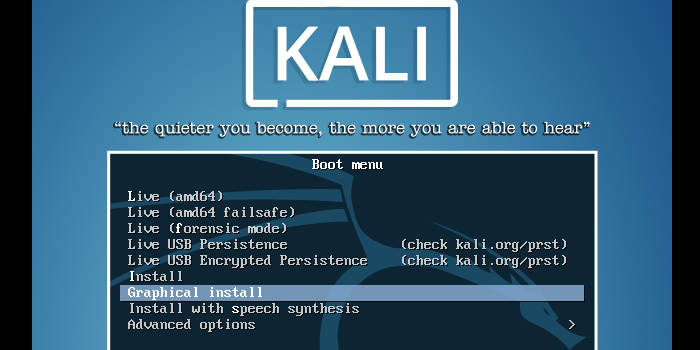 come installare Kali Linux requisiti