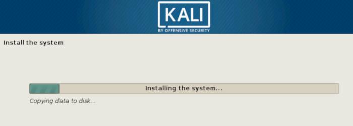 come installare Kali Linux unico sistema operativo