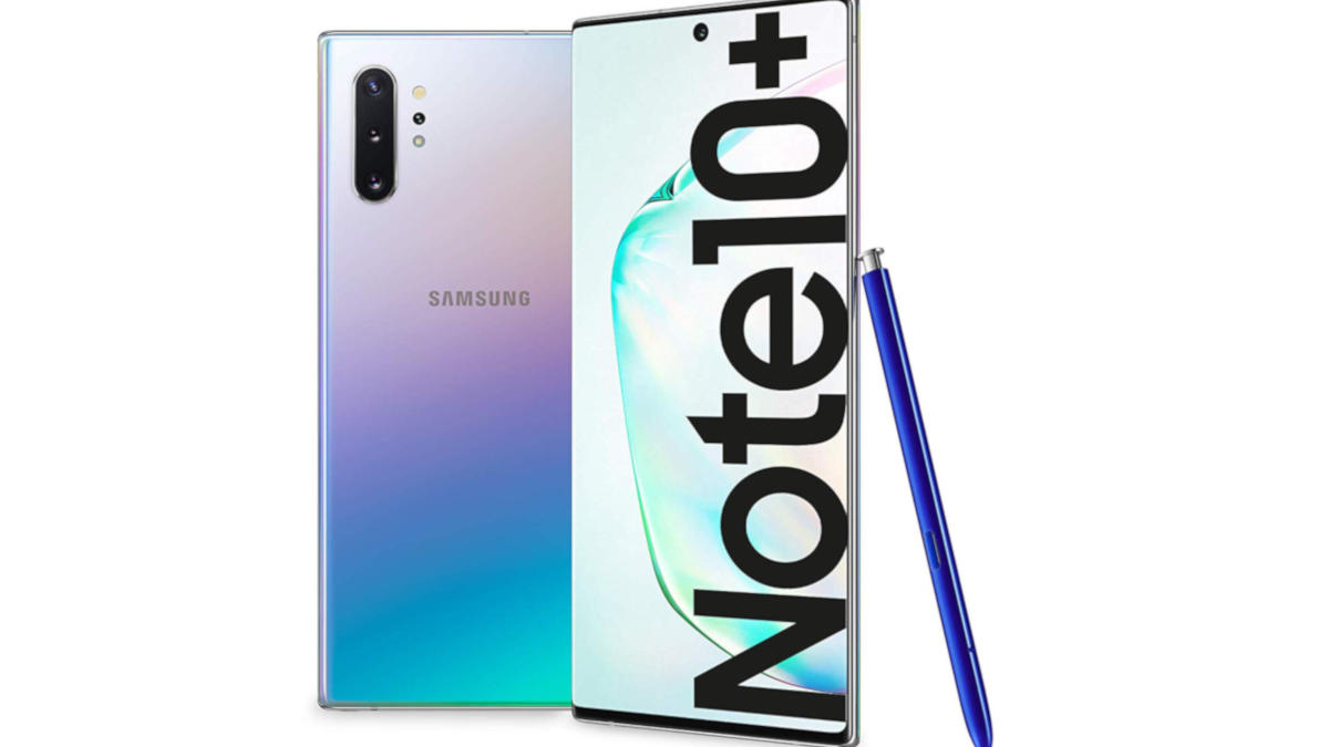 smartphone Samsung Galaxy Note 10 plus