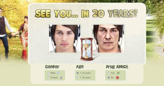 app per invecchiare foto In20years