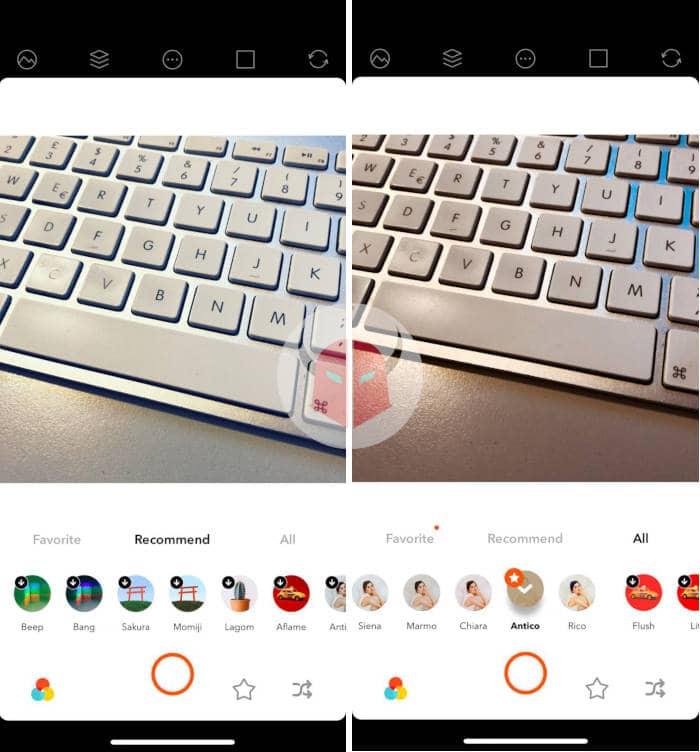 app per invecchiare foto Retrica