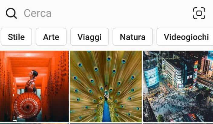 chi seguire su Instagram sezione Esplora