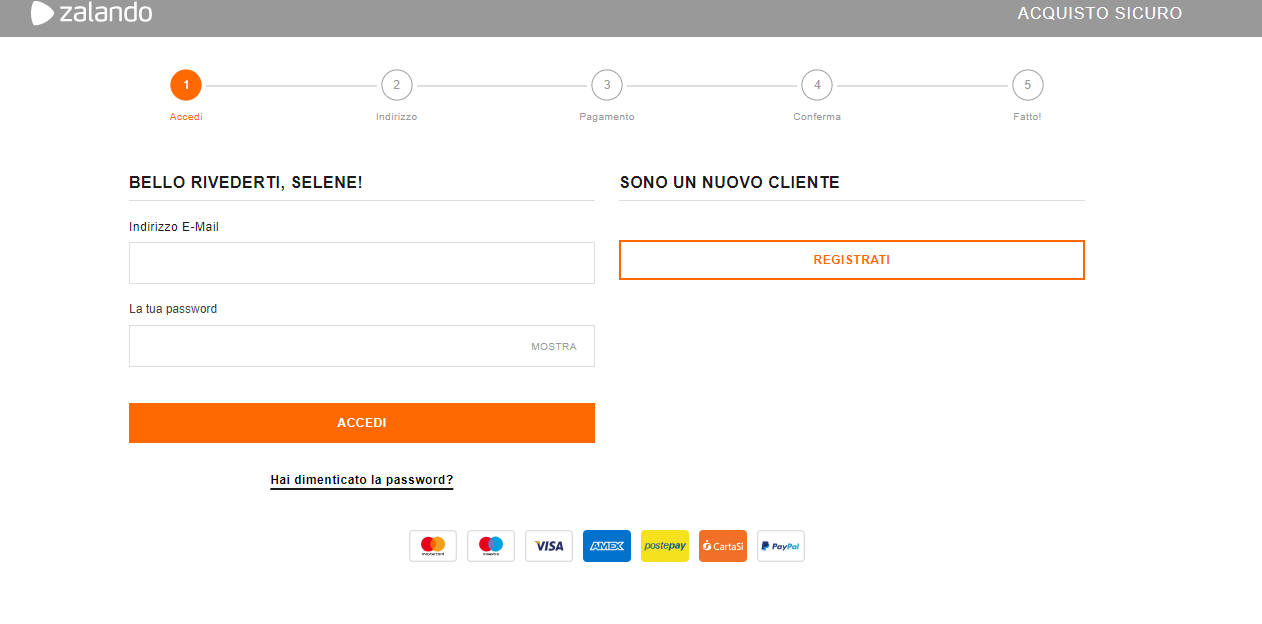 uk availability 842de fb9a6 Come annullare ordine Zalando - WordSmart.it