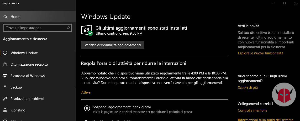 come attivare Bluetooth Windows 10 Windows Update