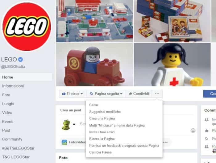 come bloccare Facebook a una persona Pagina Facebook PC
