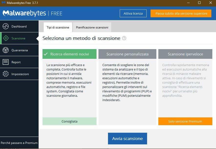 come migliorare la connessione Internet Malwarebytes