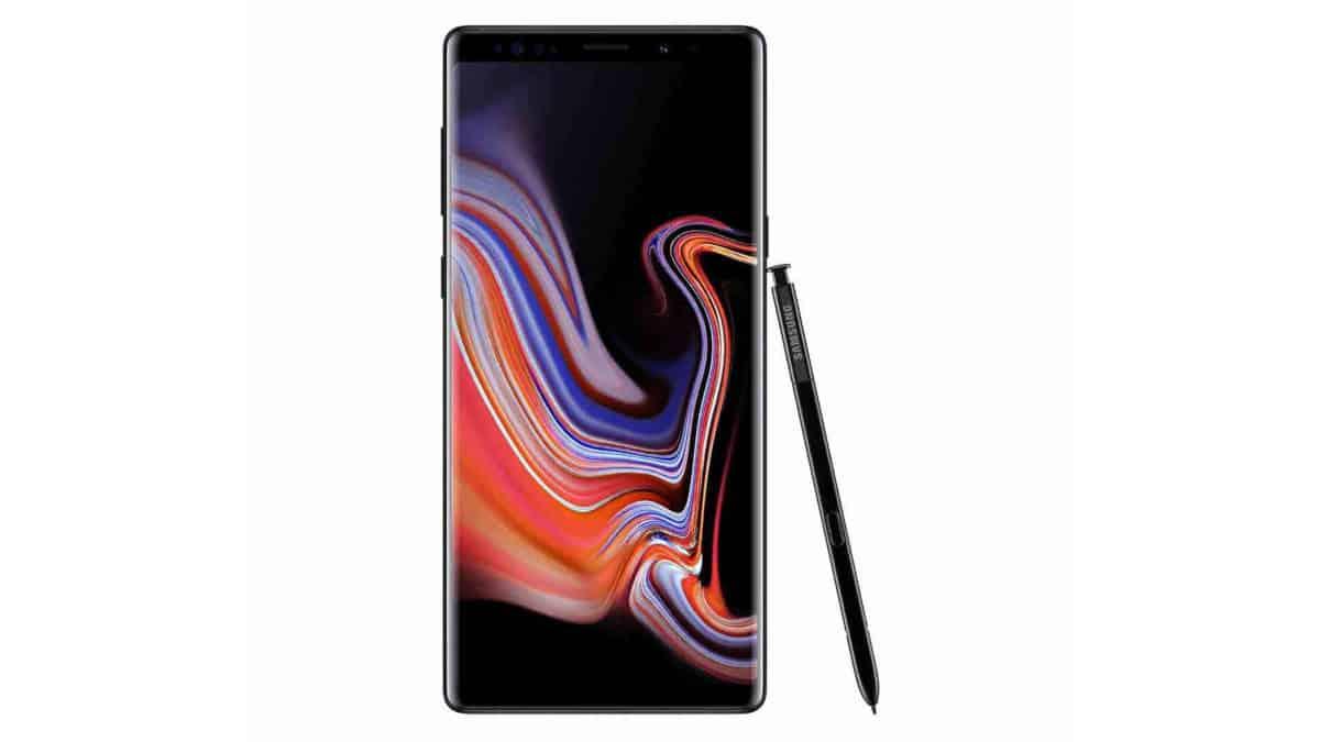 smartphone Samsung Note 9 2018