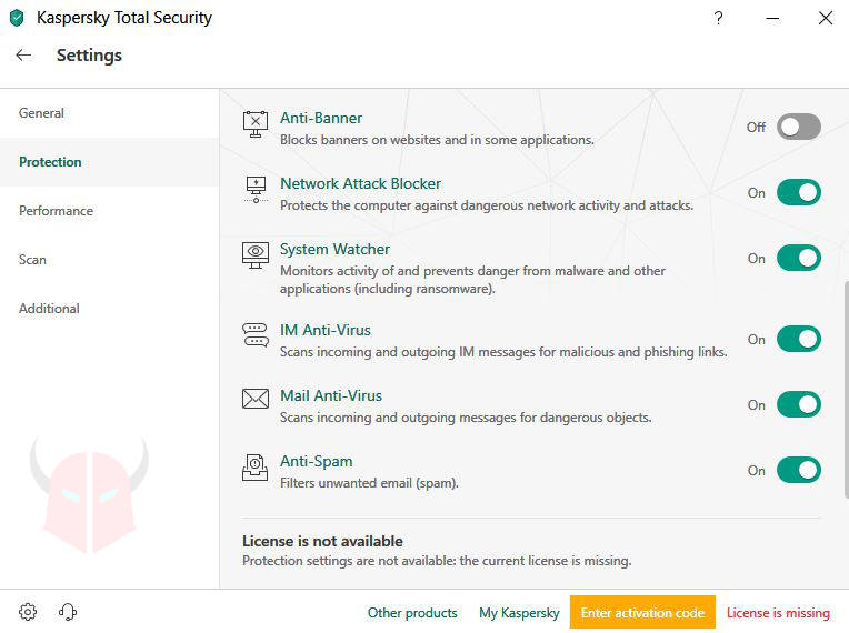 come bloccare le email indesiderate Kaspersky