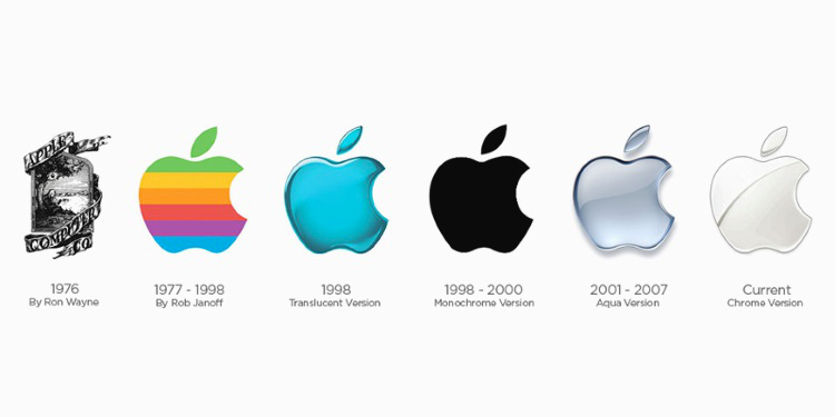 come creare un logo storia Apple