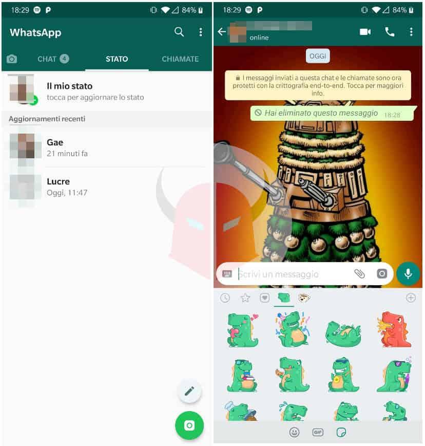 come guadagna WhatsApp chat