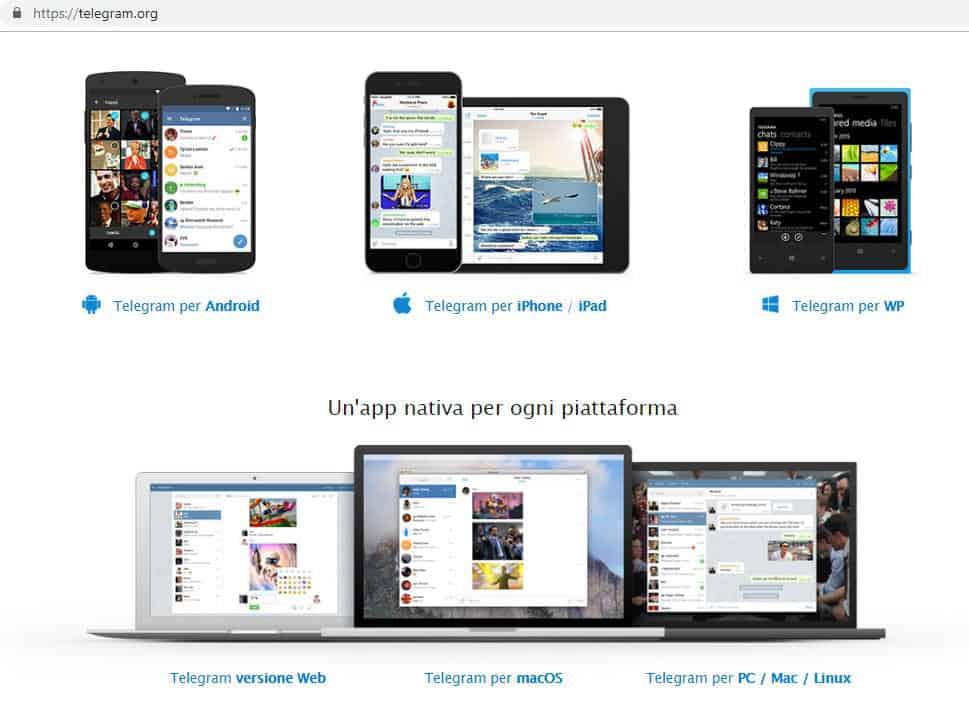 come installare Telegram su PC dispositivi compatibili