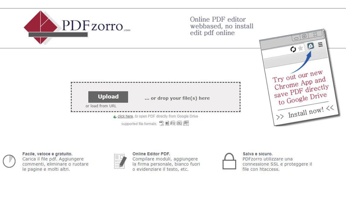 come modificare un file PDF PDFZorro