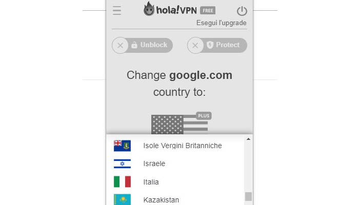 come rivedere i programmi Mediaset Hola VPN