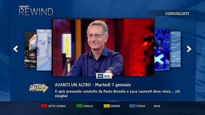 come rivedere i programmi Mediaset di ieri