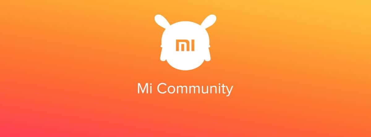 smartphone Xiaomi Mi Community