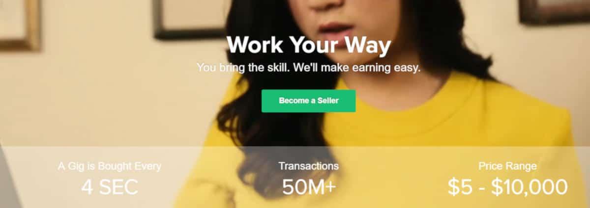 app per guadagnare Fiverr