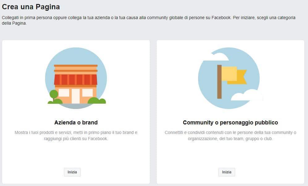 come guadagnare con Facebook creazione Pagina
