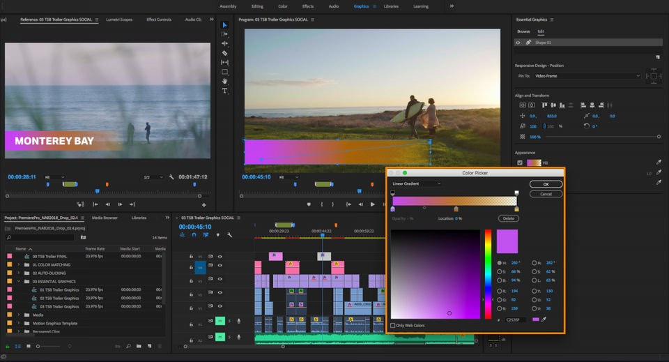 come montare un video Adobe Premiere Pro
