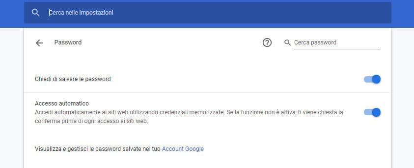 come spiare Facebook Messenger salvataggio automatico password browser