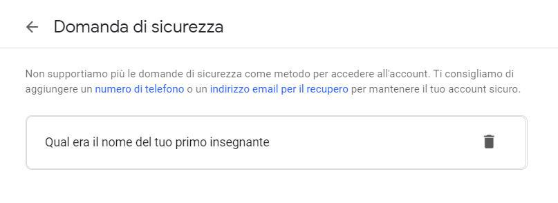 come spiare email domande di sicurezza