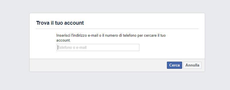 come spiare email recupero accesso Facebook