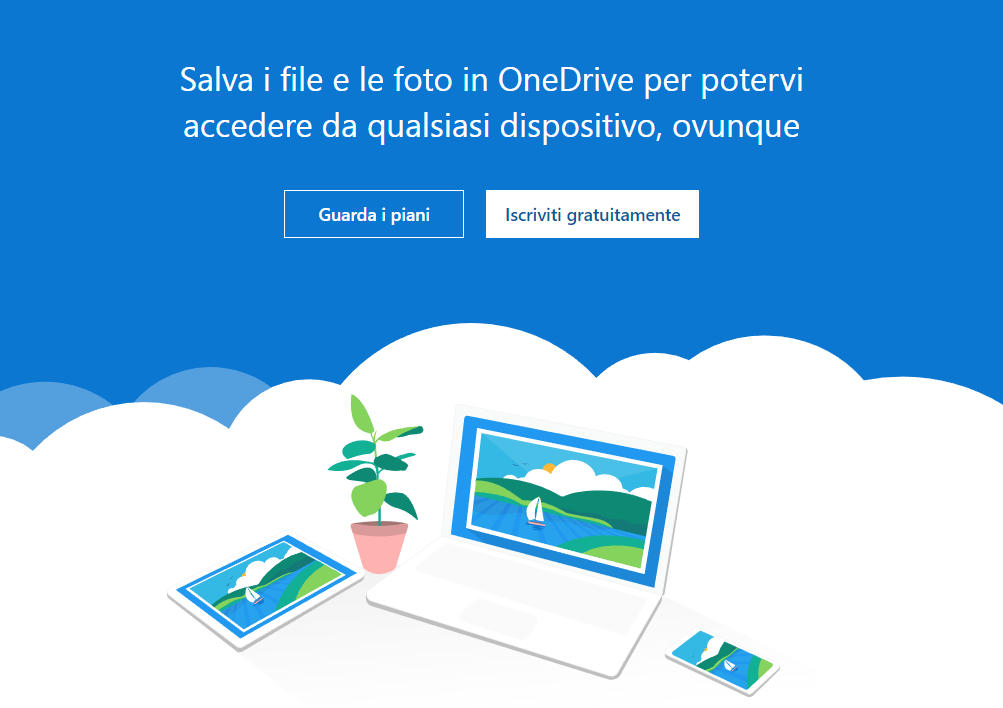 miglior cloud storage OneDrive