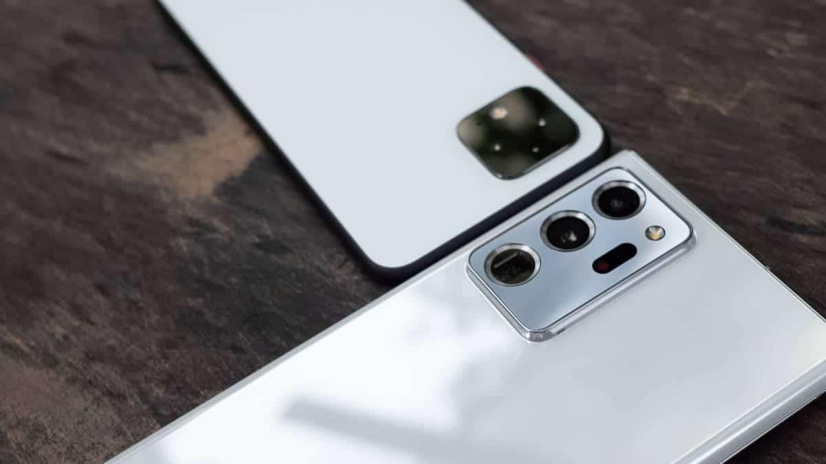 miglior smartphone esempio Google Pixel 4 e Note 20 Ultra