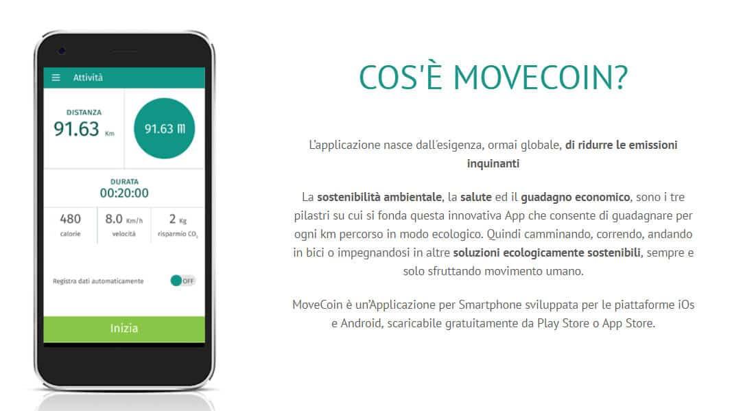 migliori app che ti pagano per camminare MoveCoin