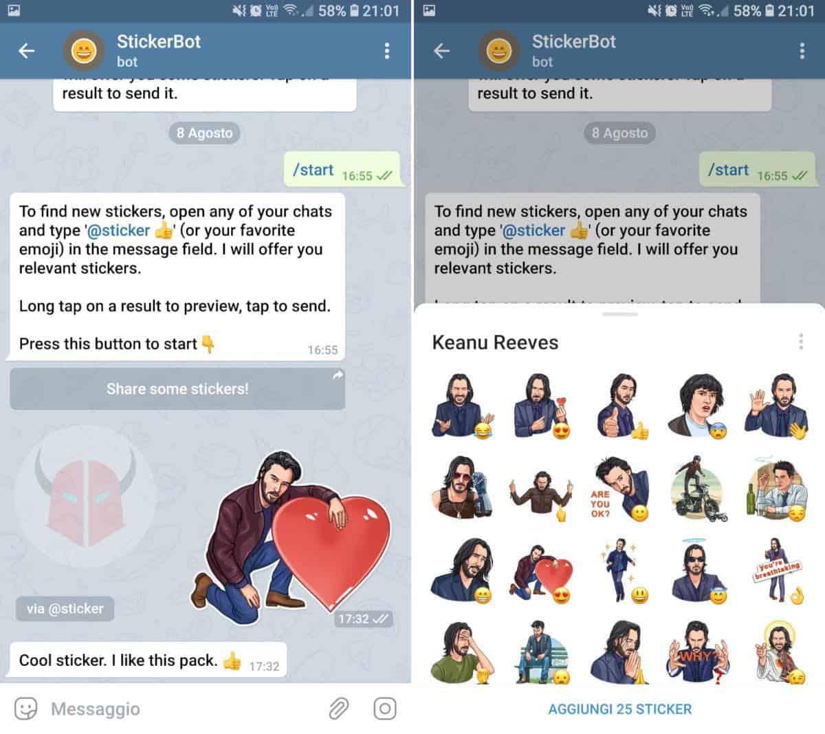 bot Telegram StickerBot