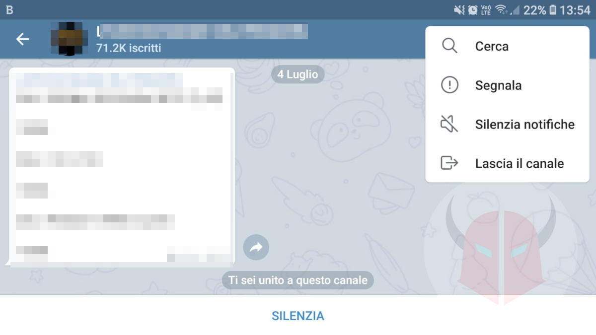 come chattare su Telegram canale