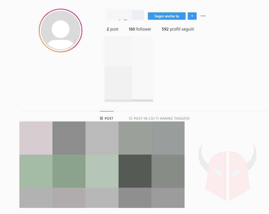 come eliminare seguaci fantasma da Instagram riconoscimento