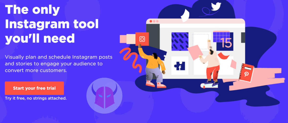 come programmare post Instagram Sked Social
