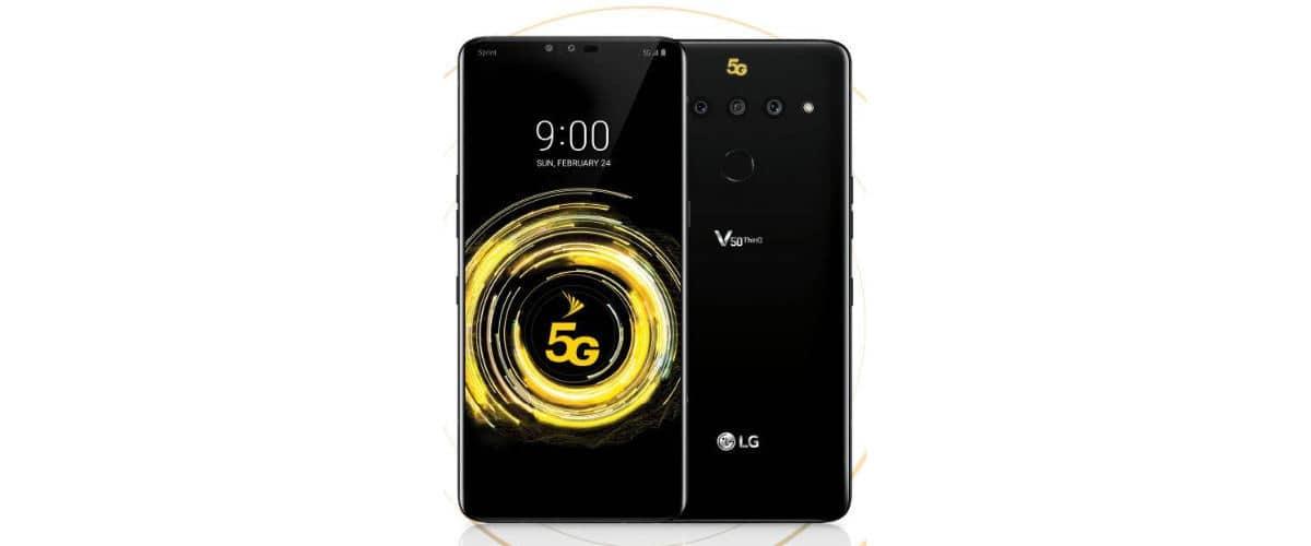 miglior smartphone 5G LG V50 ThinQ 5G