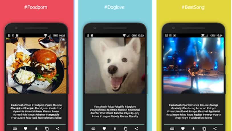 migliori app per hashtag Instagram AutoHash