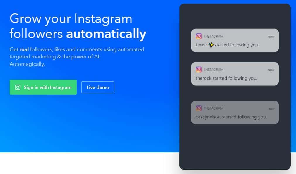 migliori app per hashtag Instagram bot Social Captain