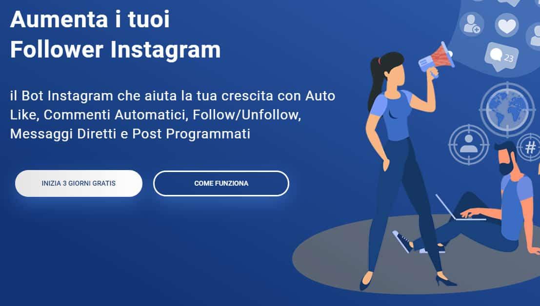 migliori app per hashtag Instagram bot Instarazzo