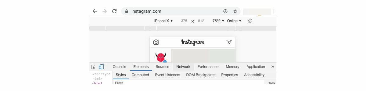 come leggere messaggi Instagram PC console sviluppatori