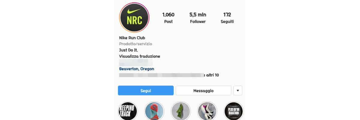 come riattivare profilo Instagram opzione Segui