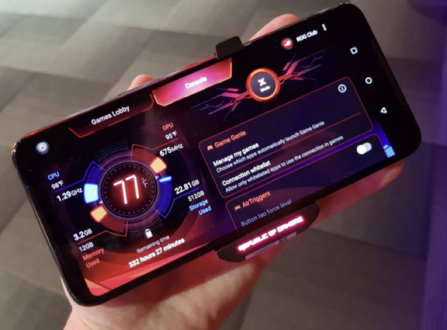 display Asus ROG Phone