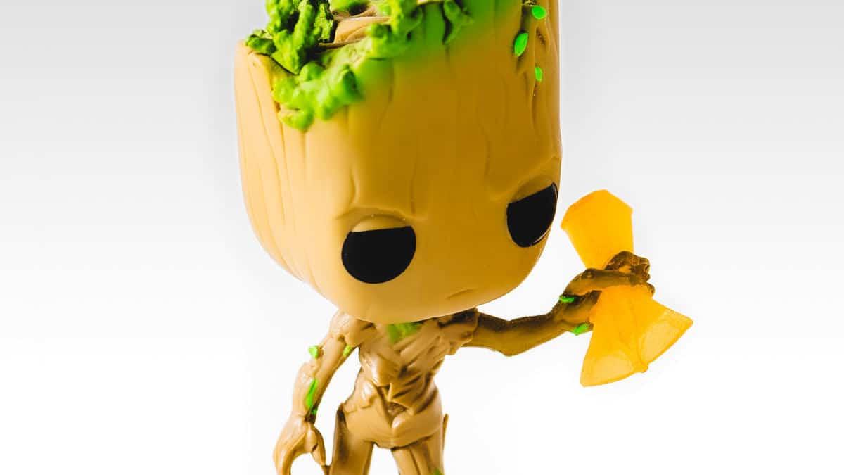 vedere i film Marvel in ordine cronologico immagine rappresentativa di Groot piccolo