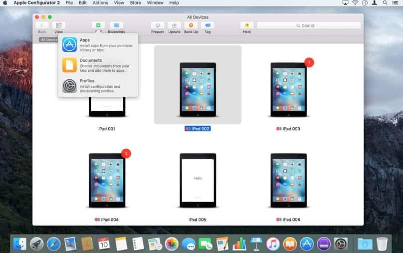 come scoprire se iPhone è hackerato Apple Configurator 2