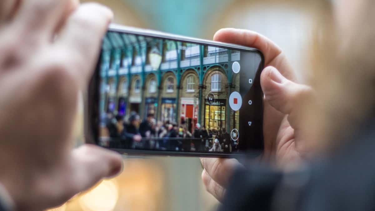 smartphone Android economico fotocamera