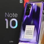 smartphone Xiaomi esempio Note 10 Lite