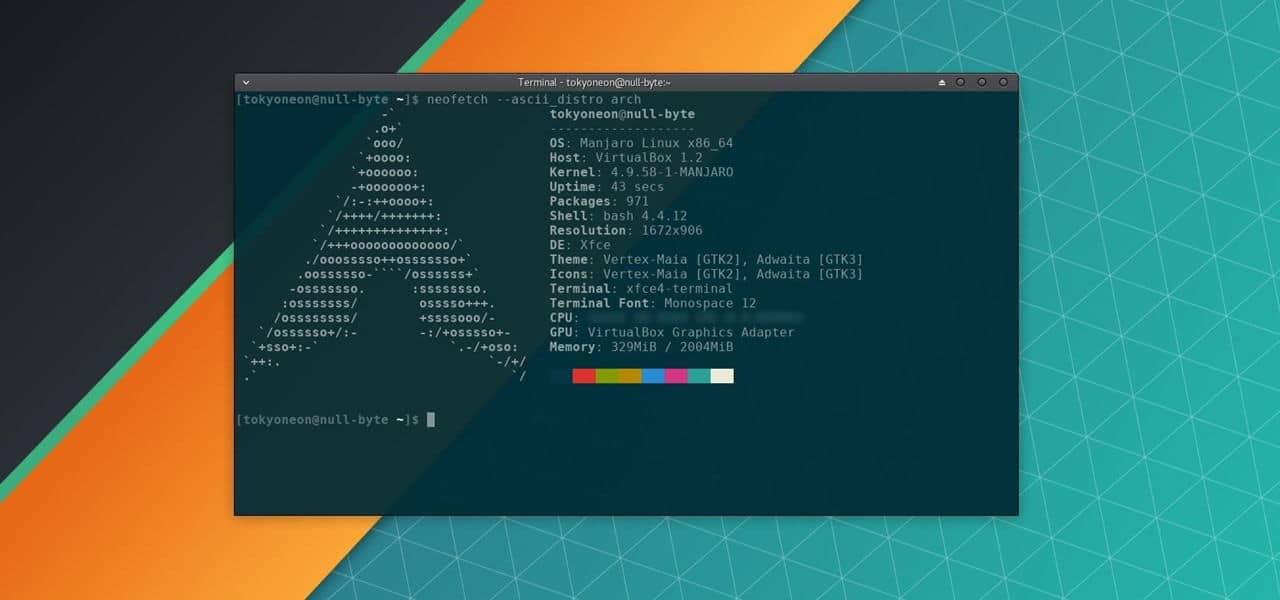 Manjaro distro Linux