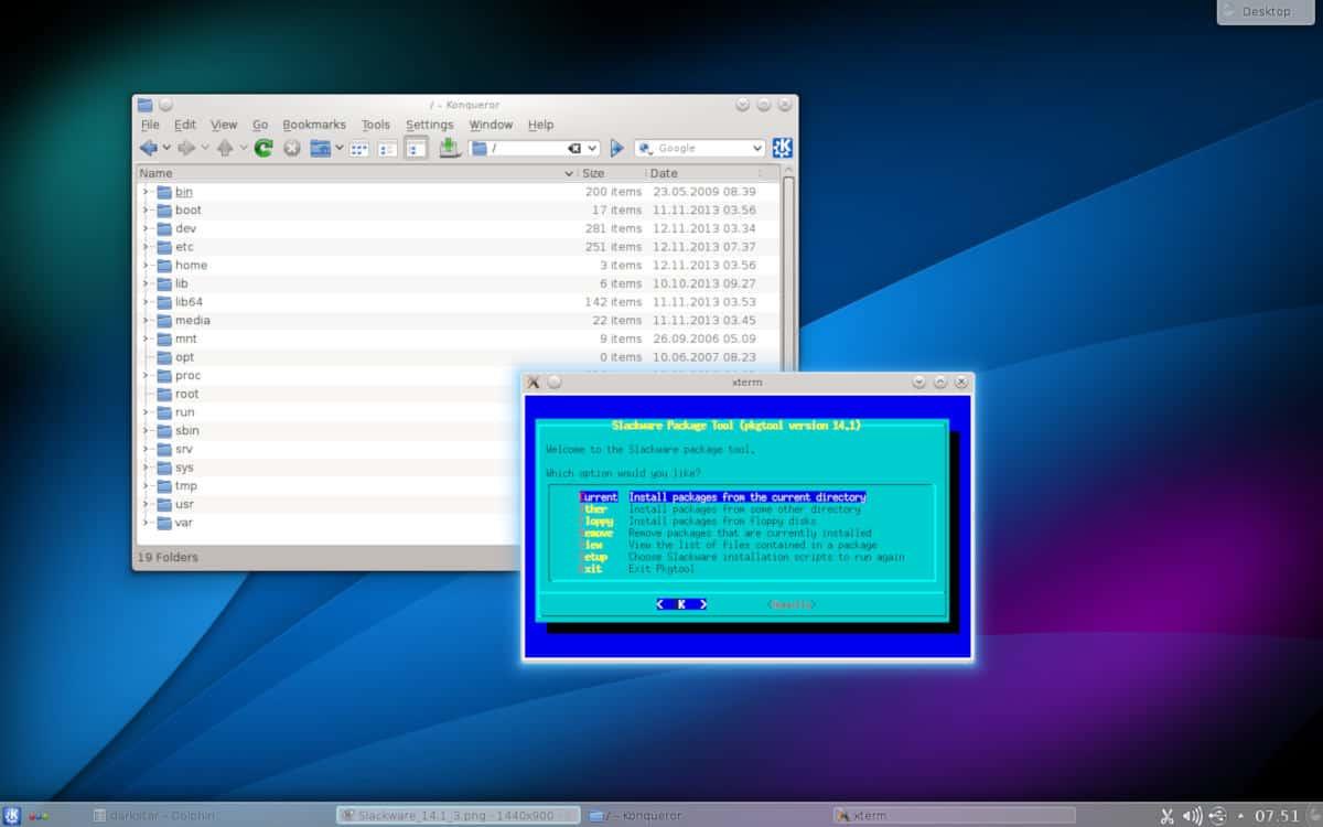 Slackware distro Linux