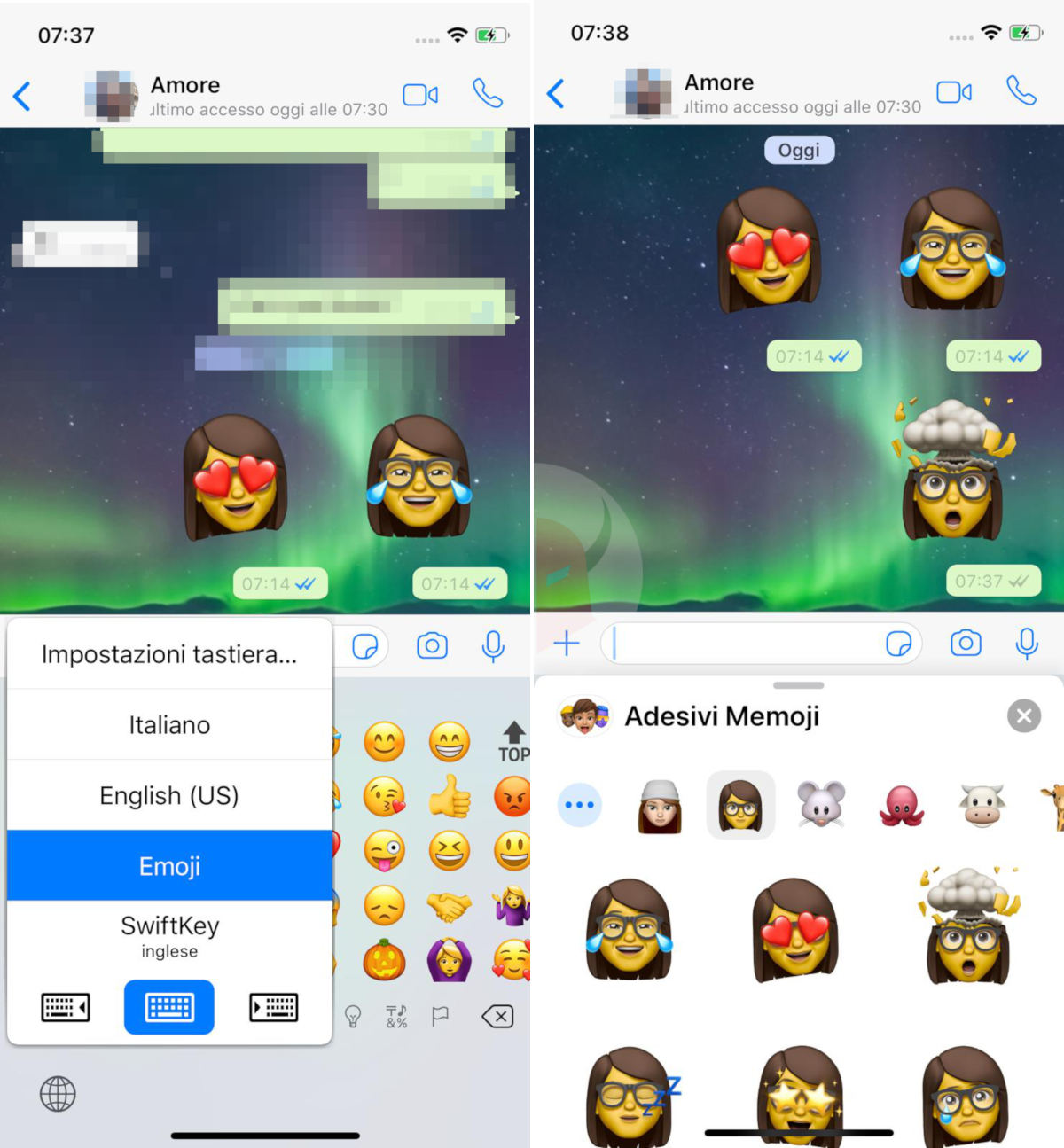 come usare i Memoji su WhatsApp con iPhone