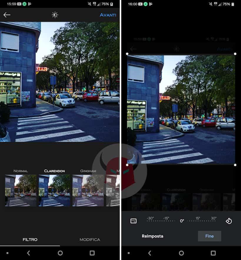 come salvare filtri Instagram download post con effetti