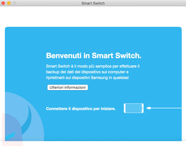 come fare il backup su Android esempio Smart Switch